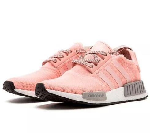 tenis adidas nmd feminino cinza e rosa