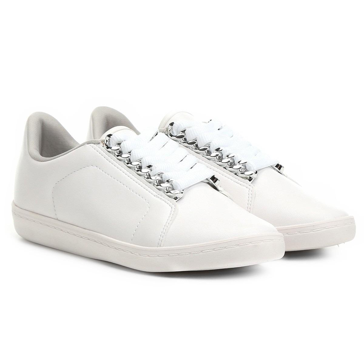 503891d4d2b tenis feminino branco barato macio e confortável. Carregando zoom.