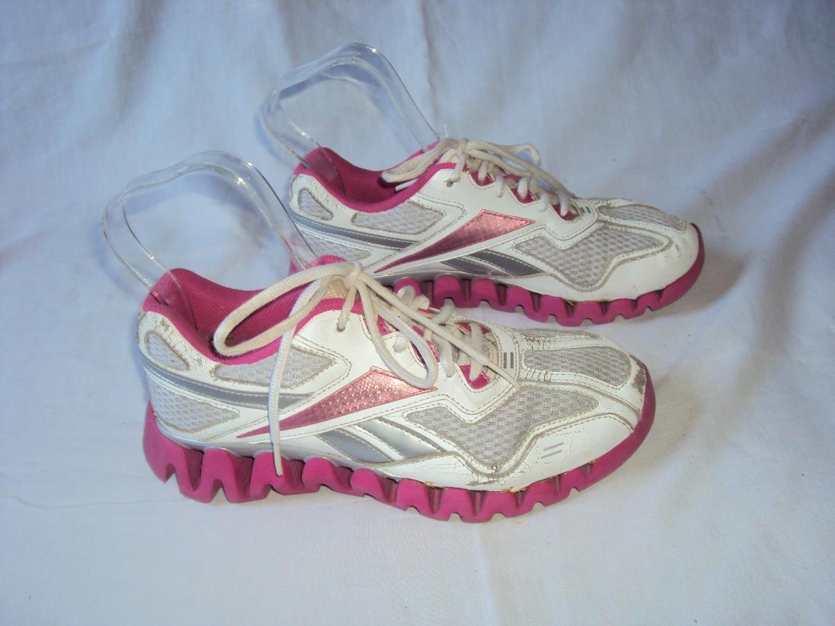 79b15fffe64 tenis feminino branco e rosa reebok tamanho 36. Carregando zoom.