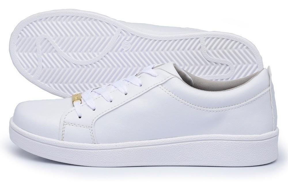 Tenis Branco Feminino - Calçados, Roupas e Bolsas no