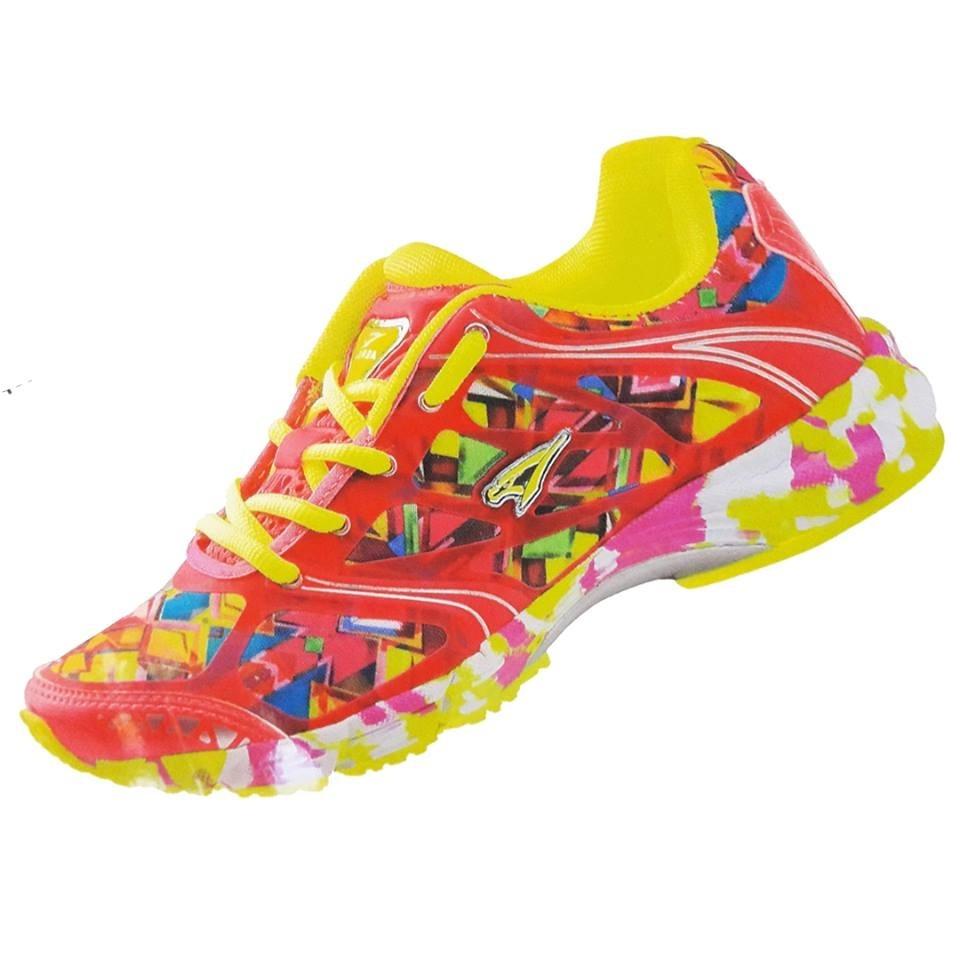 8a6eb35d60a tenis feminino colorido barato academia promocao barato leve. Carregando  zoom.
