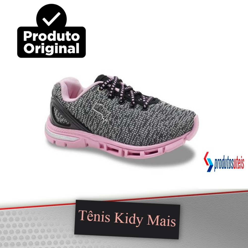 878c48ad038 tenis feminino infantil preto rosa antiderrapante meninas. Carregando zoom.