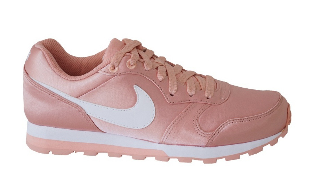 cce27bb589 Tenis Feminino Nike Md Runner 2 Original - Rose Gold - R  334