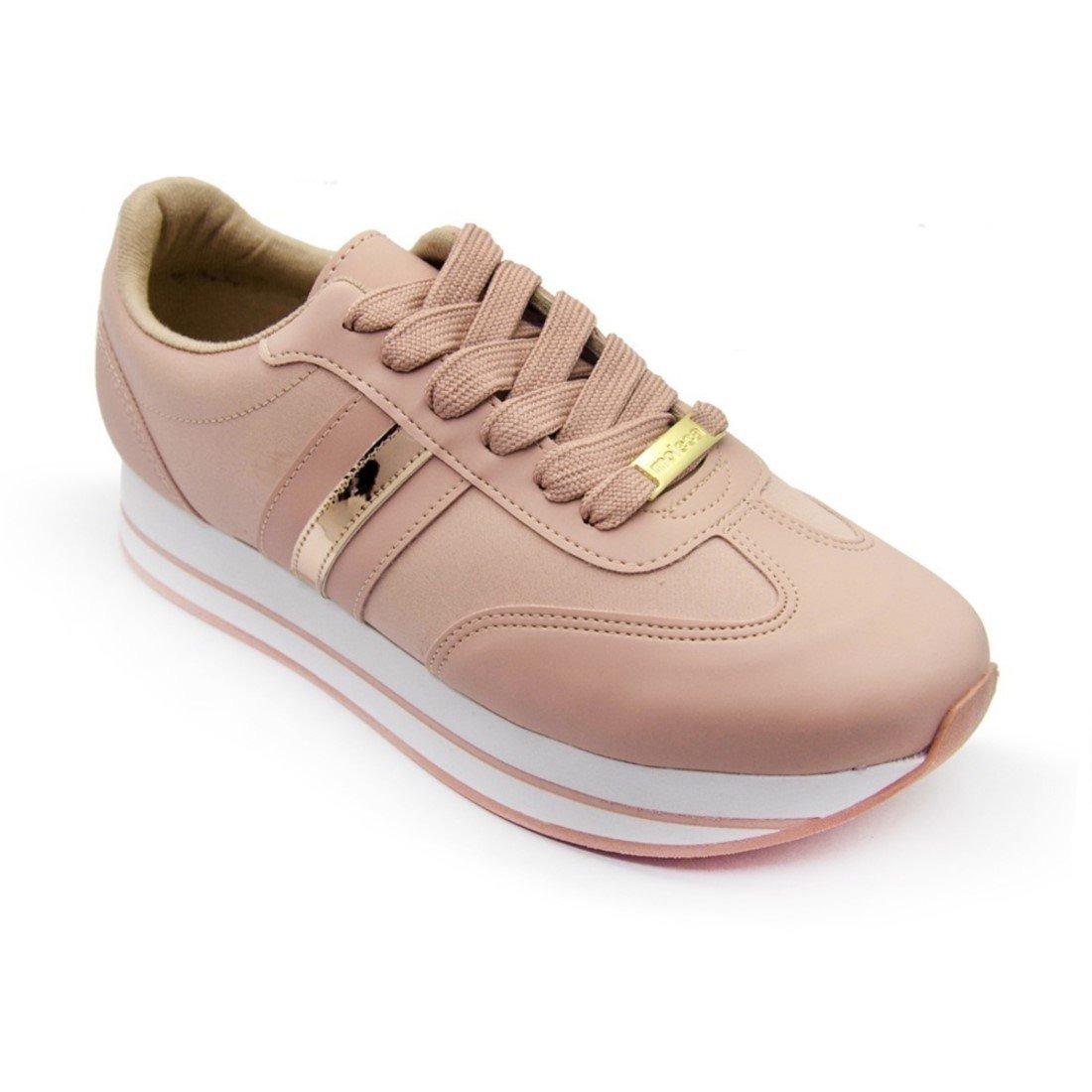 426a8f8d51 tenis feminino original moleca flatform rosa nude 5627110. Carregando zoom.