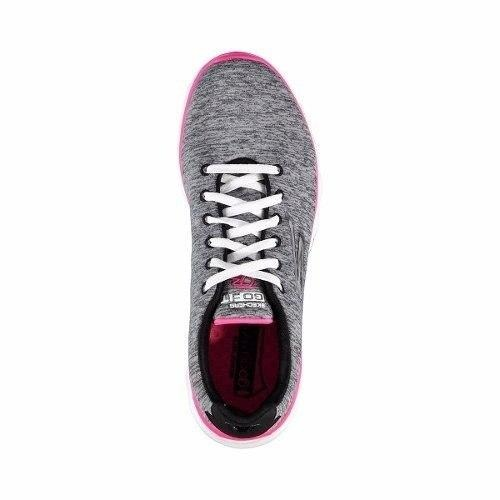 234b1fe459 Tenis Feminino Skechers Go Walk 3 14086-gyhp - R  237