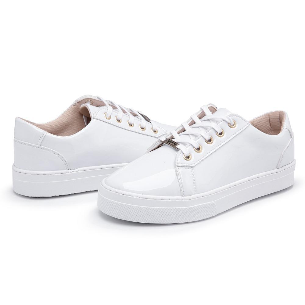 59f376923b tenis feminino slip on sapatenis sapatilha brancocasual. Carregando zoom.