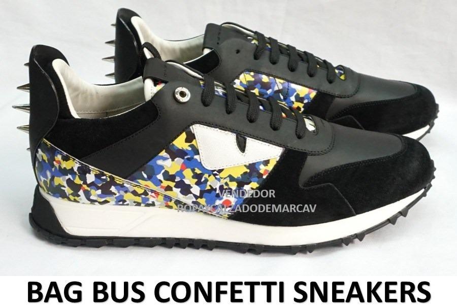 db0a38a112 Tenis Fendi Sneakers Envio Gratis Dia Sig Y Meses S i -   5