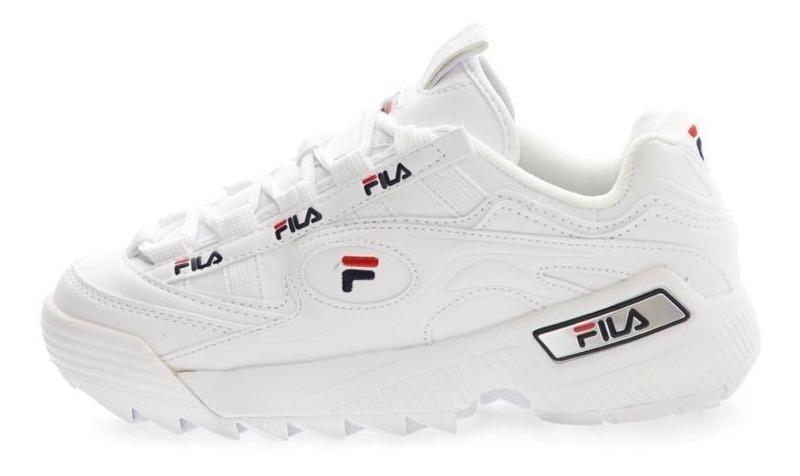 zapatos fila blancos hombre flexi
