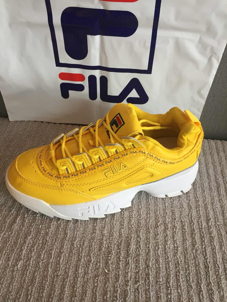 Compra > tenis fila amarillos mujer mexico- OFF 65 ...