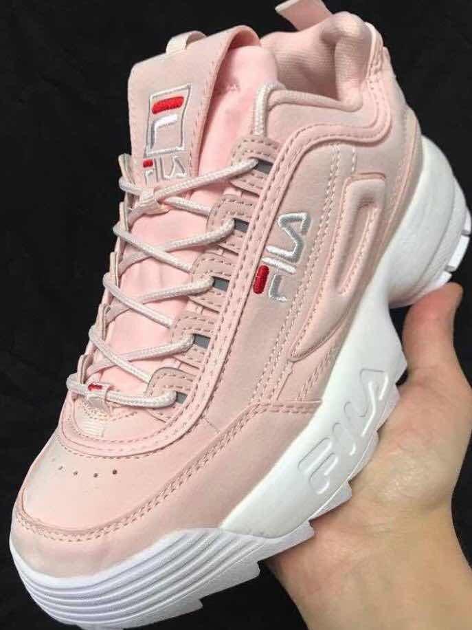a141207c744 dama fila Cargando rosa tenis zoom color 05xqYw1
