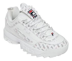 gran selección de 2019 correr zapatos excepcional gama de estilos Tenis Fila Disruptor 2 Multiflag Blanco 5fm00536-125