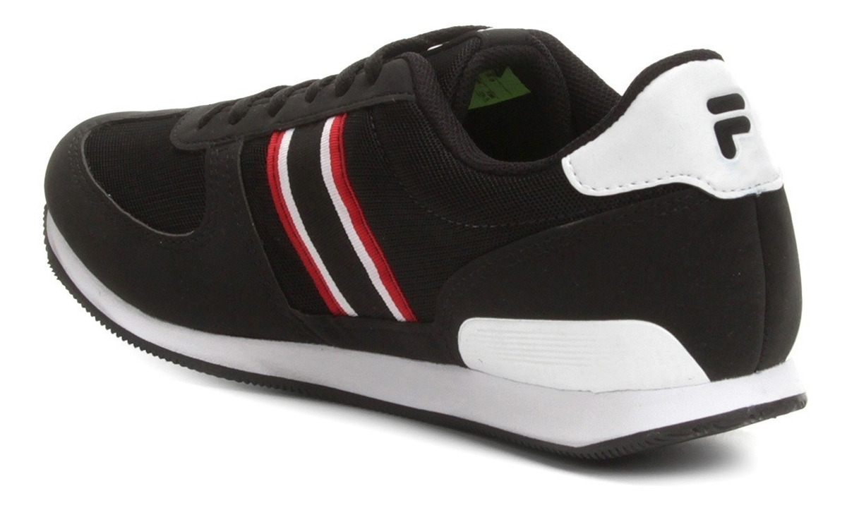 aaf0a511c0 tenis fila f-retro sport 2.0 masculino - preto e vermelho. Carregando zoom.