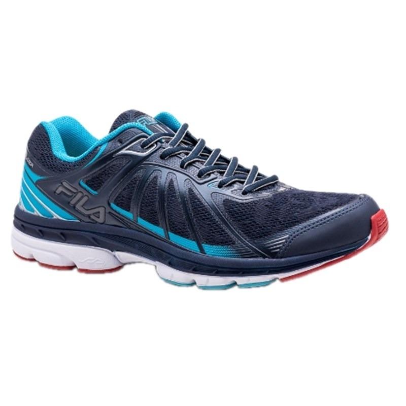 772559fa718 tenis fila holder masculino 11j526x running - azul e marinho. Carregando  zoom.