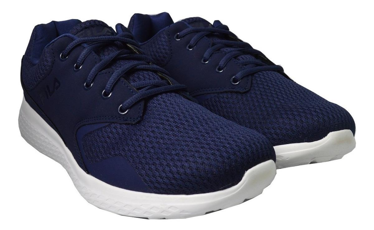 Tenis Fila Hombre Azul Marino Layers 1rm00062421