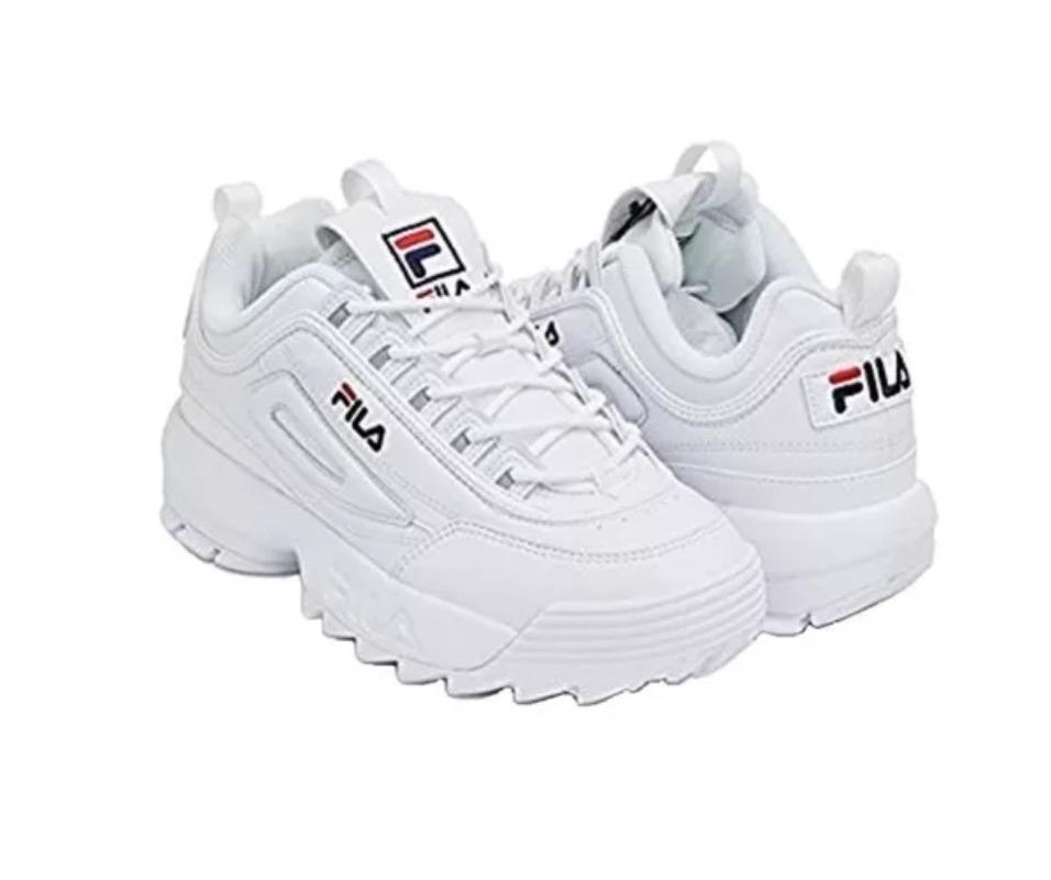 ... Tenis Zapatillas Fila Disruptor 2 - Blanco Mujer - 179.900 en . 0f292f7fc27a8