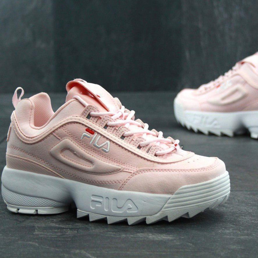 6814f09f039 tenis zapatillas fila disruptor low rosada blanca mujer. Cargando zoom... tenis  fila mujer. Cargando zoom.