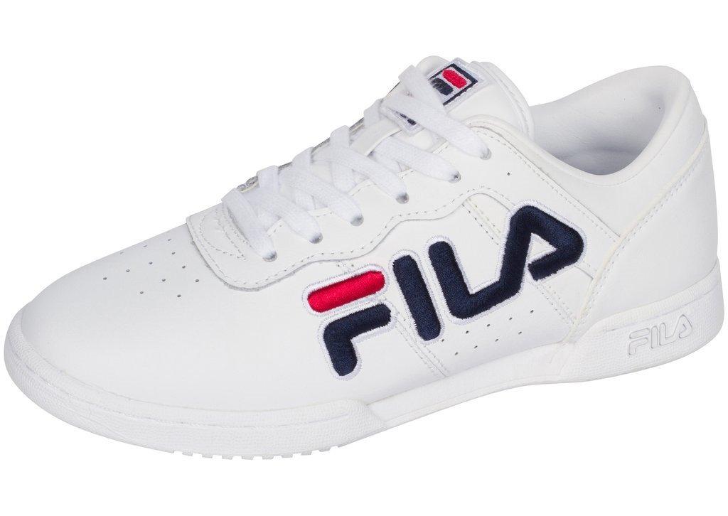 96ae8ac57cd tenis fila original fitness blanco azul 5fm00060-125 fl0136. Cargando zoom.