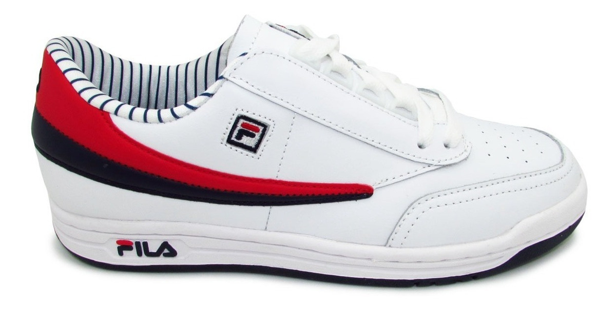Tenis Fila Original Tennis Ps 1vt13057-150 White Navy Red