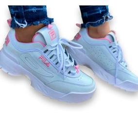 aliexpress moda de lujo nueva alta calidad Tenis Fila Tractor Zapatos Deportivos Mujer Calzado De Moda