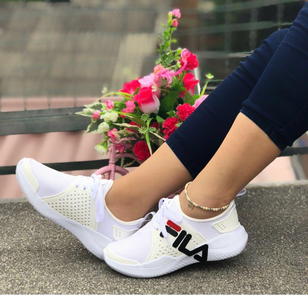 Tenis 000 Calzado Zapatos Deportivos Dama Mujer En Fila 75 rxq4wOr