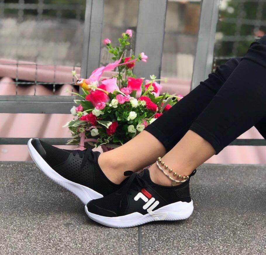 nuevo estilo y lujo ventas especiales nueva apariencia Tenis Fila Zapatos Deportivos Mujer Fila Calzado Fila