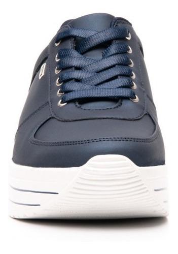tenis flexi dama 101001 azul casual