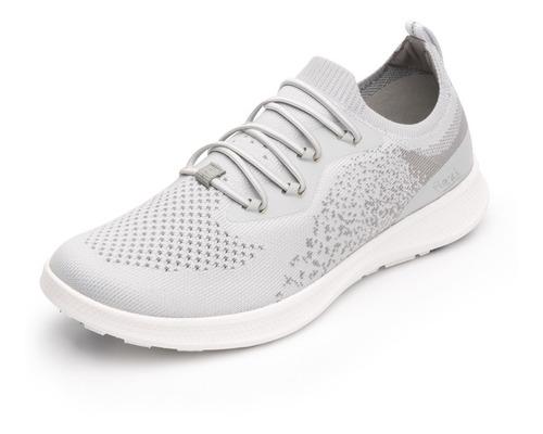 tenis flexi dama 101303 gris casual