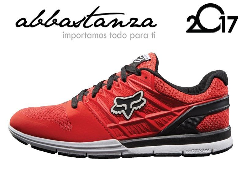 312b202c Tenis Fox Motion Elite Ii Rojos Con Negro Nuevos Originales ...