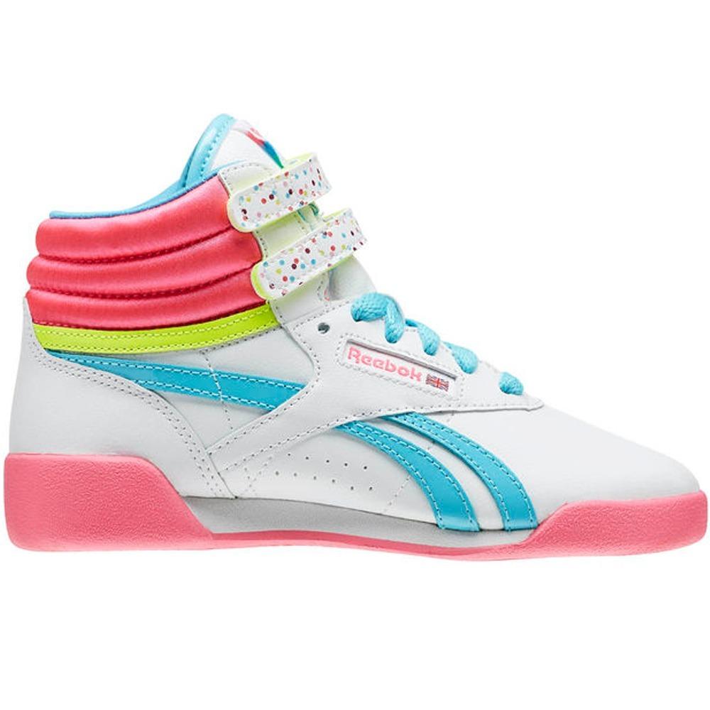 416a9983e Tenis Freestyle Hi Birthday Niña Reebok Bd2344 -   599.00 en Mercado ...