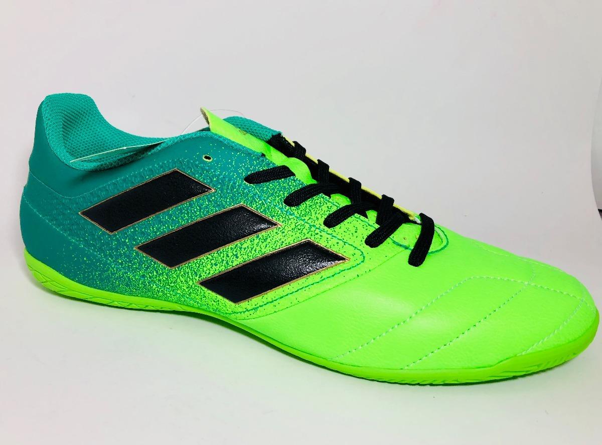 Tenis Fútbol adidas Ace 17.4 Indoor Bb5976 Verdes -   699.00 en ... 90acde6a6ca0e