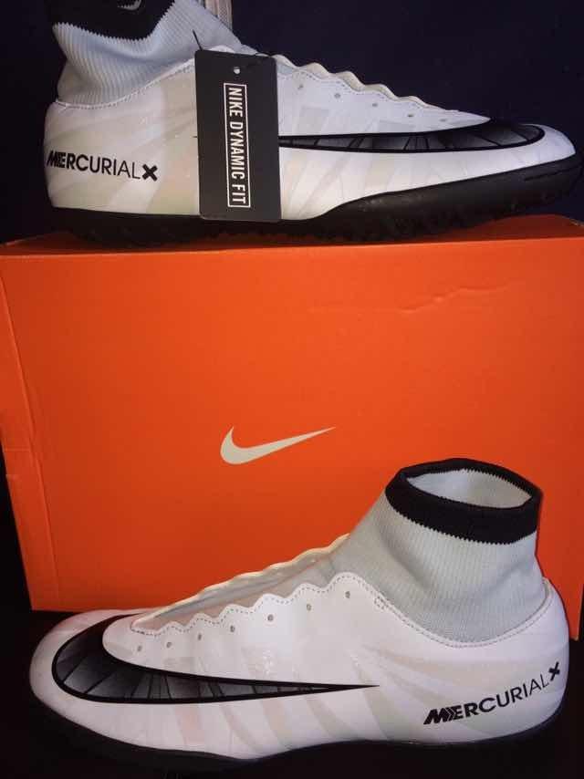 876143885f6e4 tenis futbol cristiano ronaldo cr7 talla 8.5 mercurial x new. Cargando zoom.
