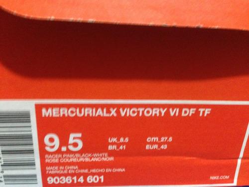 tenis futbol nike mercurial x vortex botita 100%originales