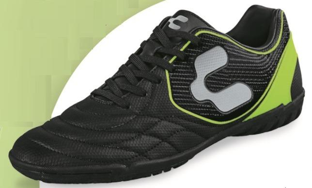 Tenis Futbol Rapido Charly Color Negro Hombre Original Turf ... 919b3d62eb594