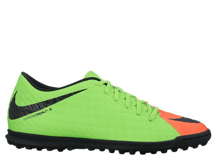 Tenis Fútbol Rápido Nike Hypervenomx Phade Multitaco -   850.00 en ... aa31f942cf0c0