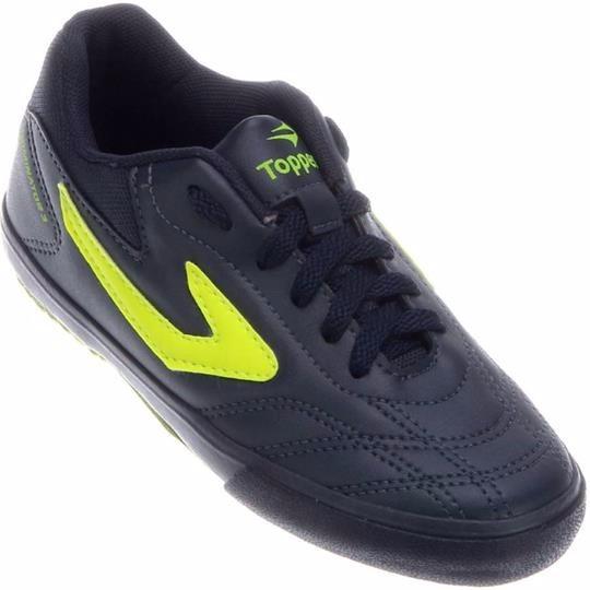 6ee74a1976 Tenis Futsal 100% Original Topper Dominator 3 Muito Barato! - R  89 ...