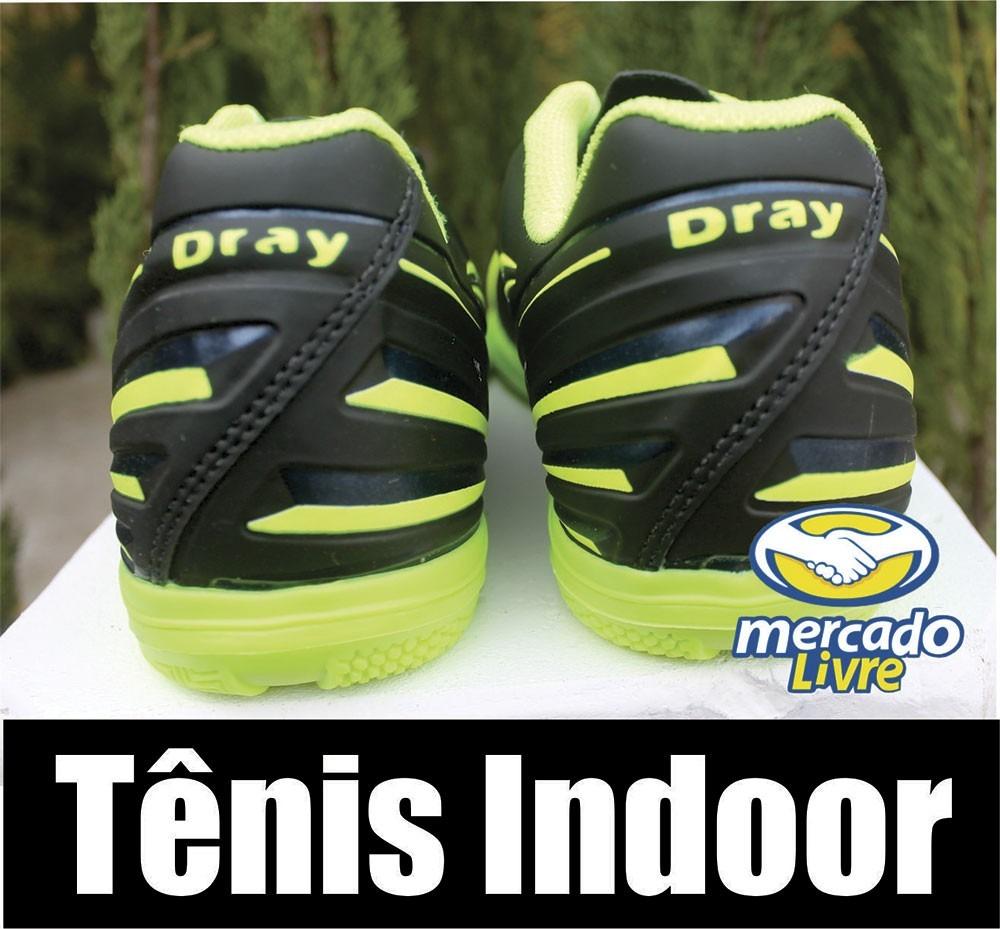 6da7602b73b tenis futsal indoor dray-o mais barato da internet. Carregando zoom.