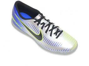 82c260b1e9 Chuteira Futsal Hypervenonx Azul Com Branco - Chuteiras no Mercado Livre  Brasil