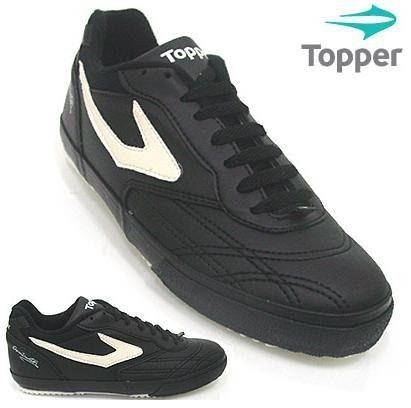 dde9cc05b1 Tenis Futsal Topper Dominator Preto     Promoçao - R  69