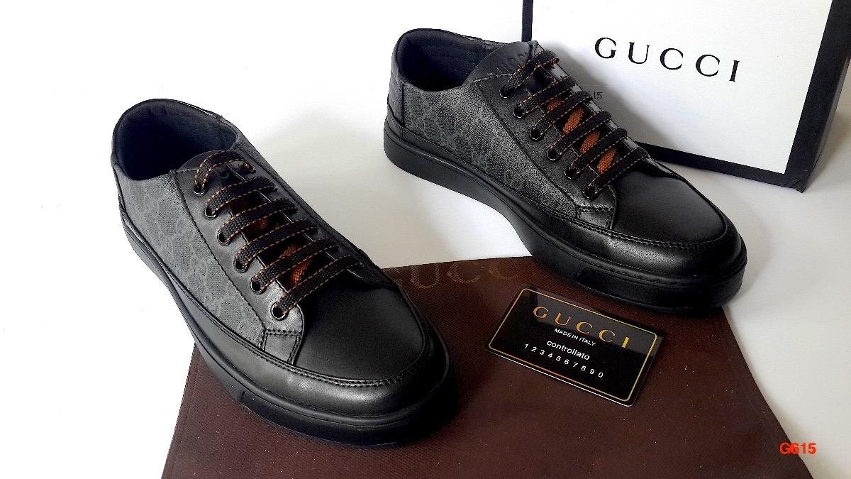 3dc17218b30d1 Tenis Gallo Louis Vuitton Gucci Versace Lv Hermes Ferragamo ...