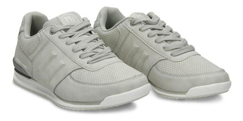 tenis gris north star vicky mujer