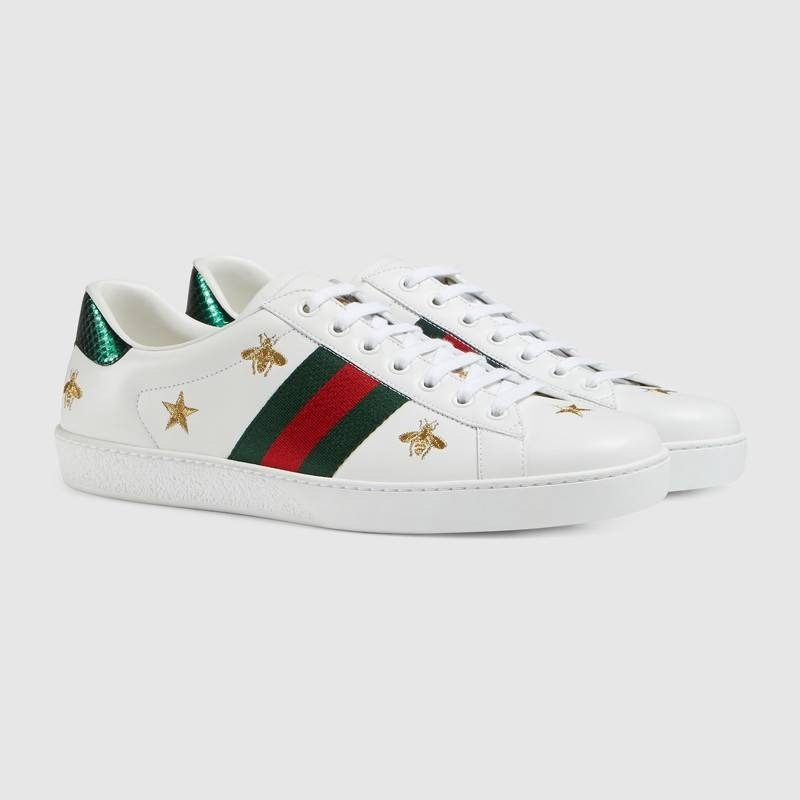 853a61afb7596 Tenis Gucci Ace Abejas