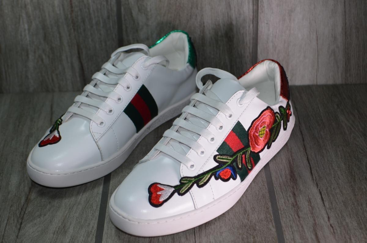 7598fee01 Tenis Gucci Modelo Rosa Envio Gratis Todo Mexico - $ 1,999.00 en ...