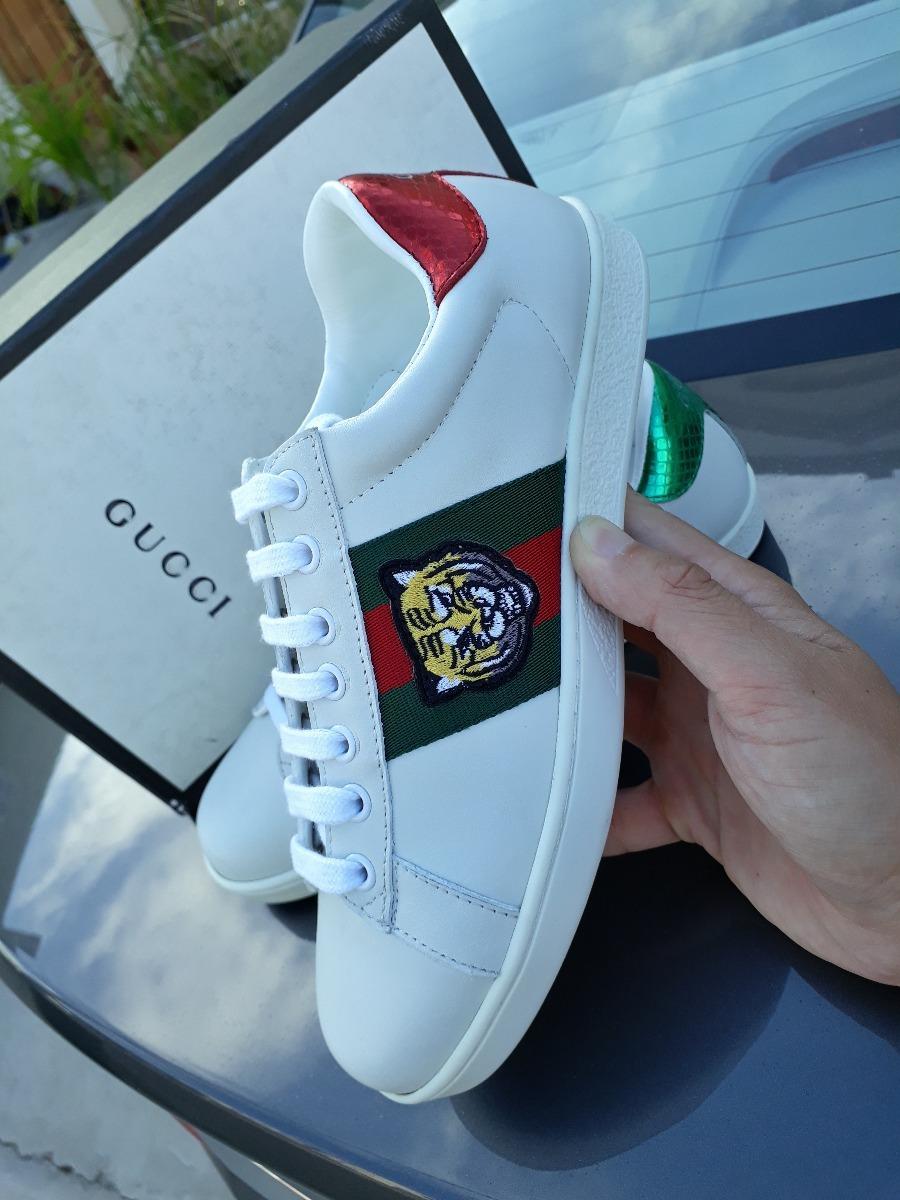 7602390e01d7c Tenis Gucci Nuevos C caja Precio Especial Envio Inmediato ...