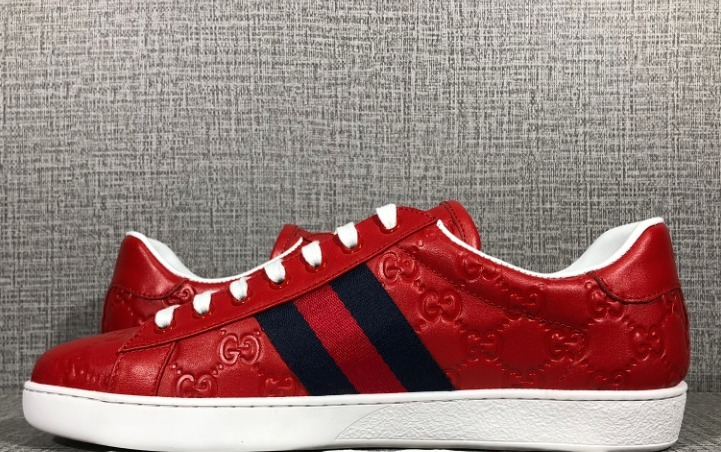 6c026f478 Tenis Gucci Rojos - $ 5,000.00 en Mercado Libre