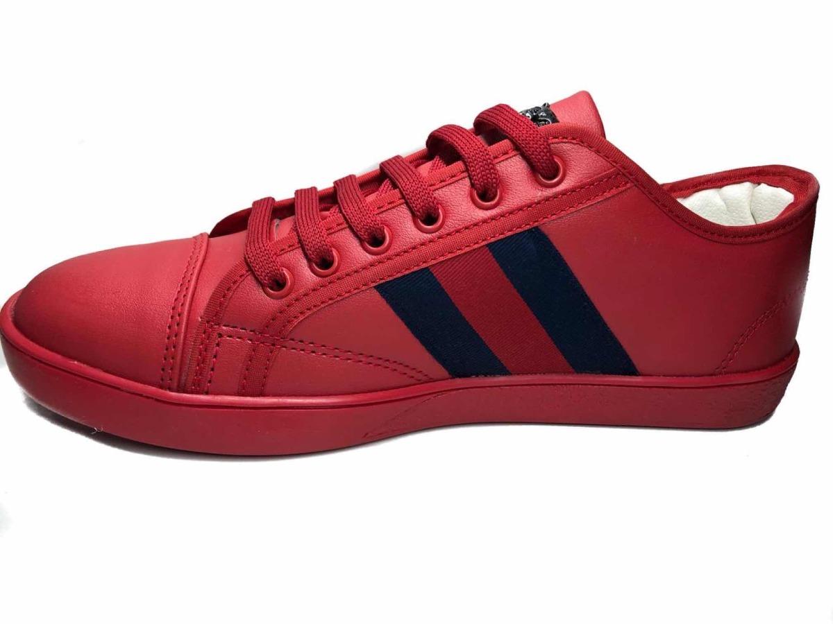f1fce6038 Tenis Gucci Rojos - $ 549.00 en Mercado Libre