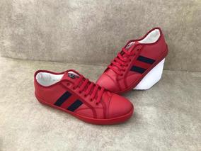 aa7c0d8d0 Tenis Gucci Rojos - Ropa, Bolsas y Calzado en Mercado Libre México