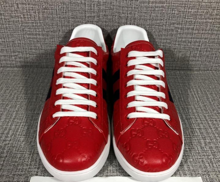 8dedddabb Tenis Gucci Rojos Nuevos Para Hombre - $ 5,000.00 en Mercado Libre