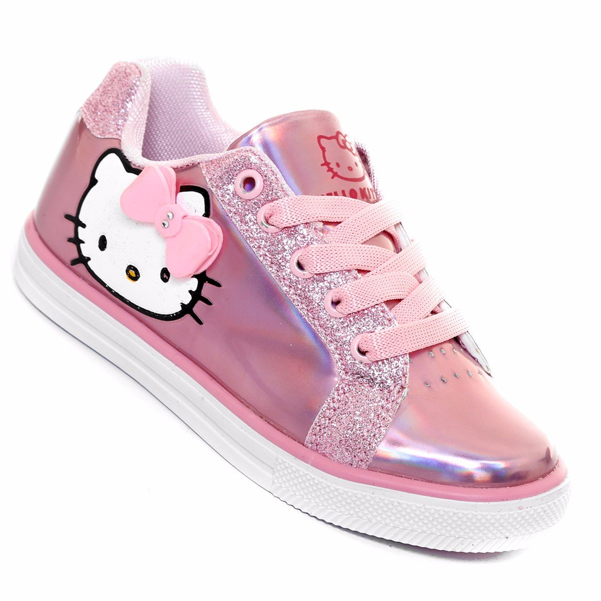 Hello Kitty Chaussures Blanches Pour Enfants AlFOWwO5we