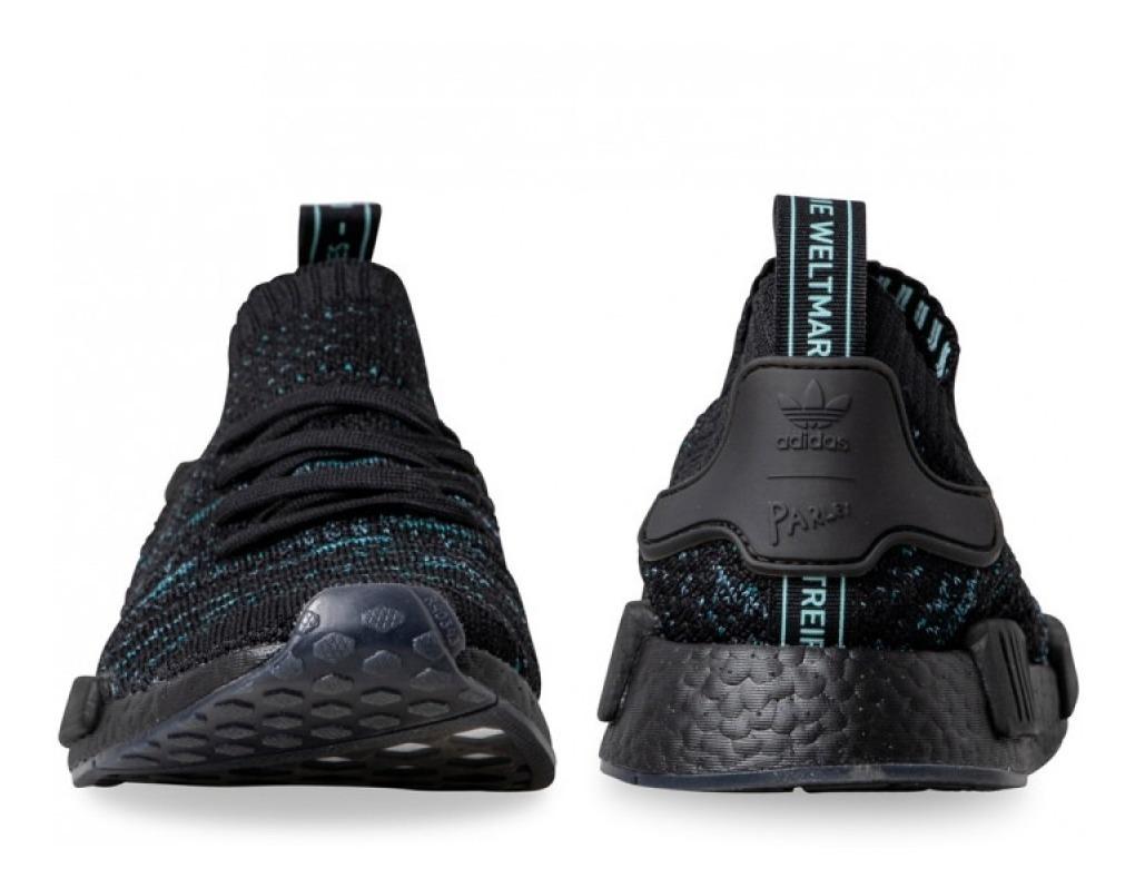adidas Tenis NMD R1 STLT Parley Primeknit Negro | adidas Mexico