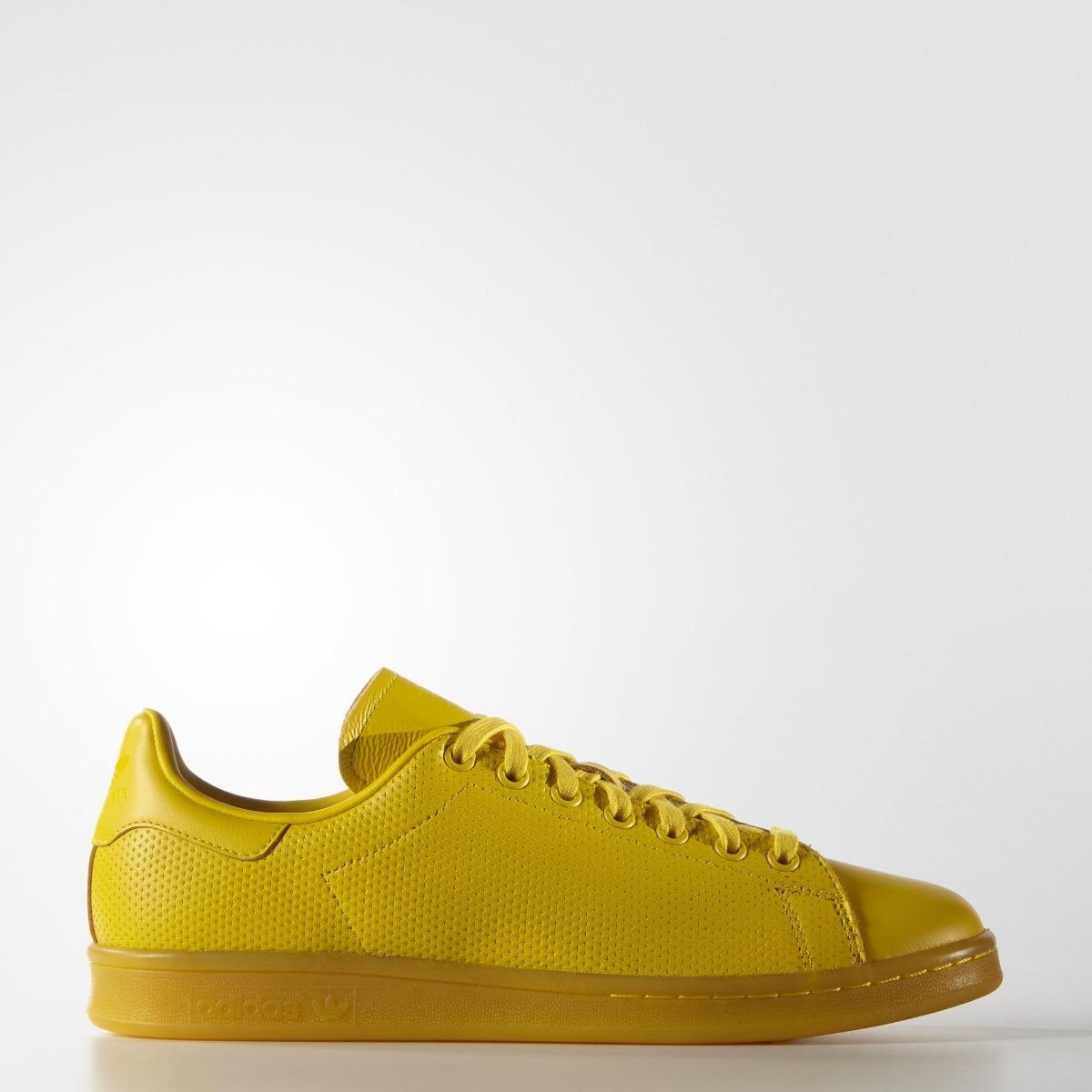 adidas stan smith amarillo
